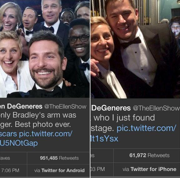 【米国】アカデミー賞司会者、スポンサーサムスン、舞台裏でiPhoneの使用バレる