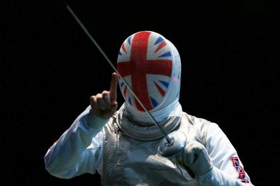 【画像】 ロンドン五輪、フェンシング英国代表 1.