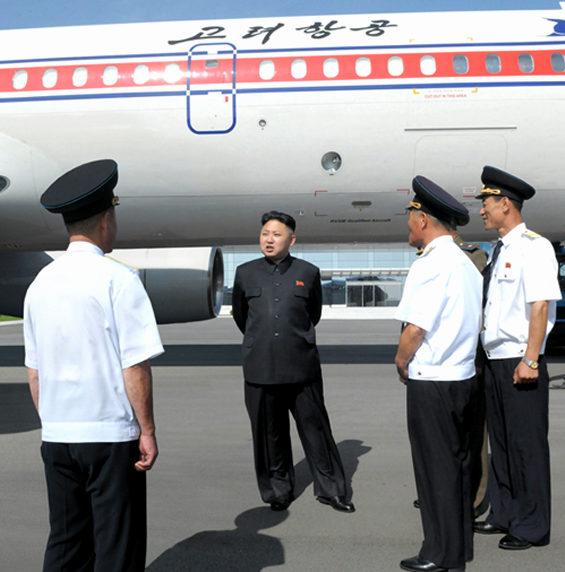 【北朝鮮】 高麗航空、金正恩