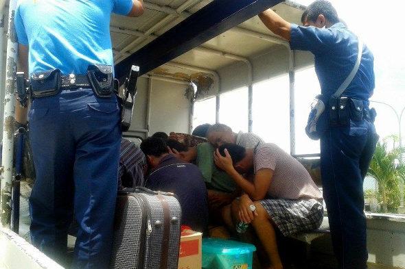 フィリピン政府、南シナ海で拿捕した中国ウミガメ密漁船の証拠写真を公開!6