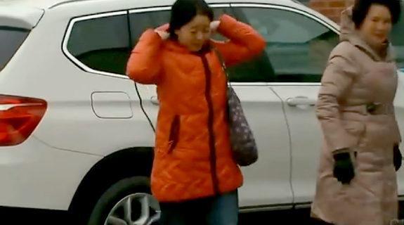 【中国】カナダ、BMWに乗った中国系の女2人、貧困層向け配給券を横取り3