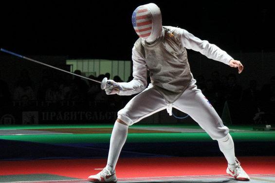 【画像】 ロンドン五輪、フェンシング米国代表.