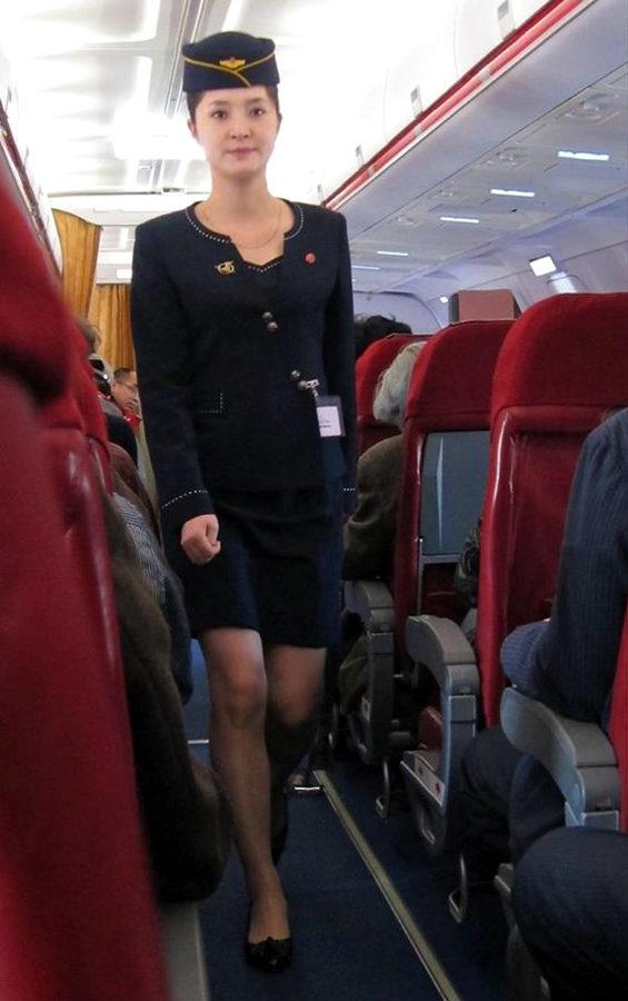【北朝鮮】高麗航空のCAの制服がミニスカ化!金正恩の指示か? [海外]