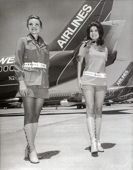 1970s Flight Attendant Southwest Airlines 2