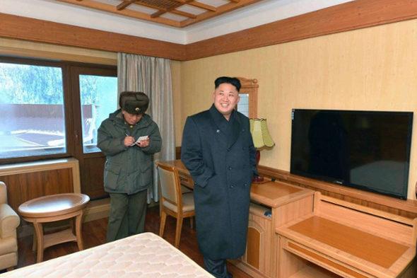 【北朝鮮】金正恩、スキーリゾート視察4