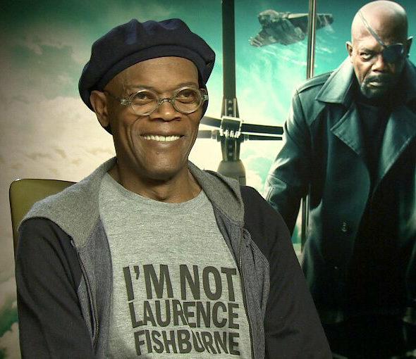 【画像】サミュエル・L・ジャクソン「俺はローレンス・フィッシュバーンじゃない」Tシャツ