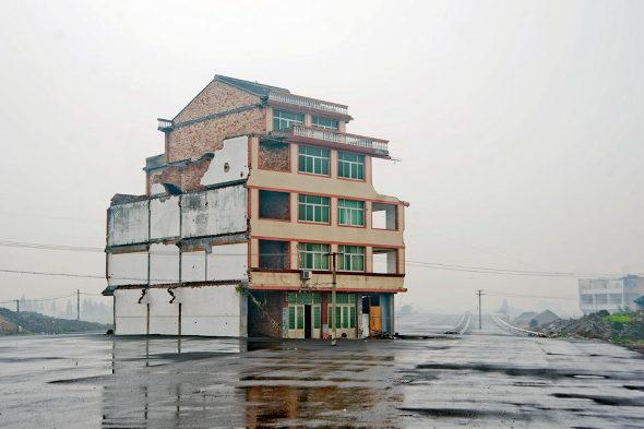 中国、「最もハチャメチャな立ち退き拒否」 2