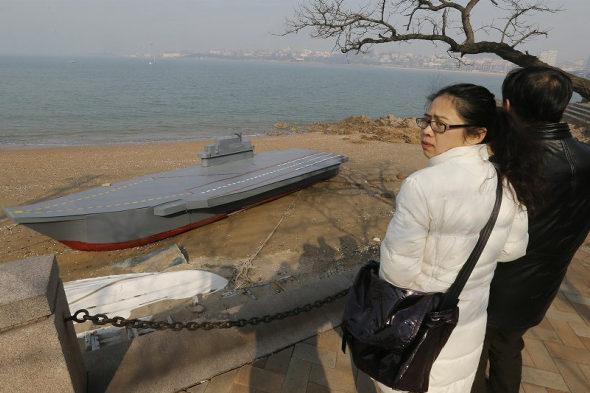 【中国】80歳のおじいちゃんが孫のために「空母」の模型を建造5