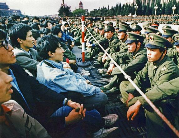 中国、1989天安門事件