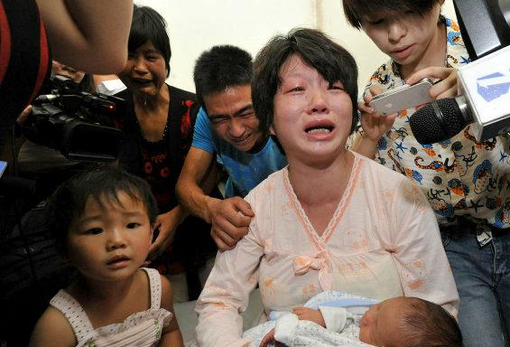 【中国】 産科医が赤ちゃんを人身売買!5  産科医が赤ちゃん人身売買か=「障害ある」と親だます―