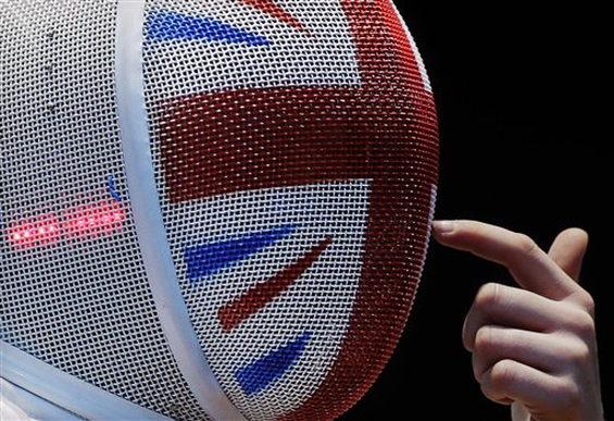 【画像】 ロンドン五輪、フェンシング英国代表 4.
