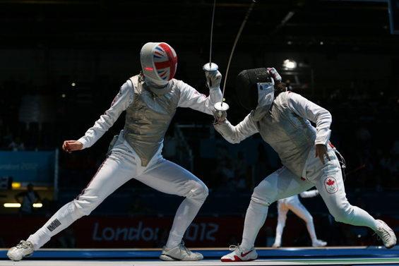 【画像】 ロンドン五輪、フェンシング英国代表 2.
