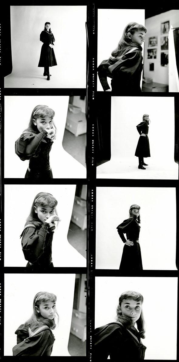 セーラー服姿のオードリー・ヘプバーン(1951年)2