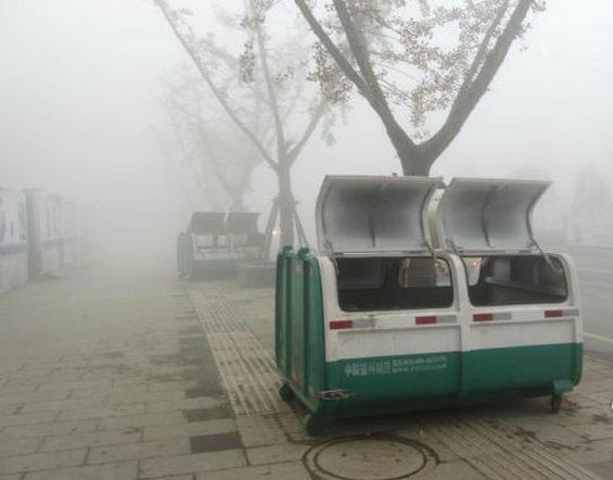 【中国】 ごみ箱の中で浮浪児5人死亡 1