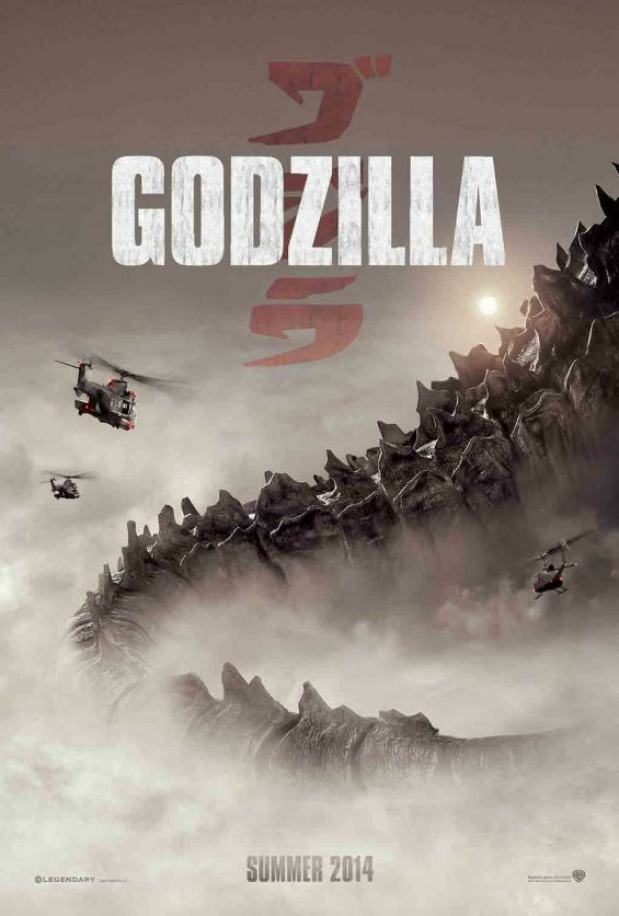 Godzilla 2014 ポスター