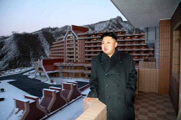 【北朝鮮】金正恩、スキーリゾート視察5
