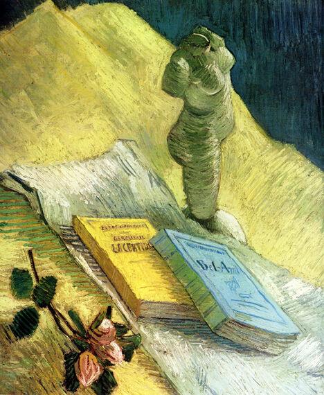 ゴッホ「石膏像のある静物」