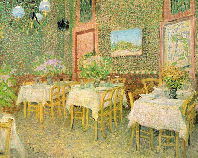 ゴッホ「レストランの内部」