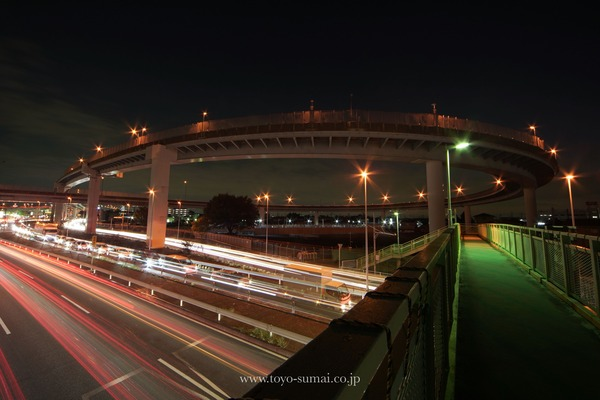 さいたまの風景 首都高速道路大宮線