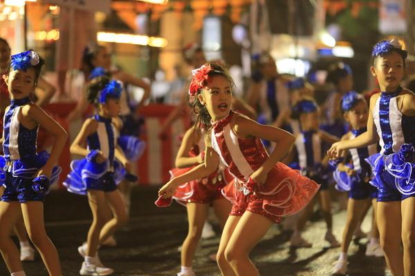 大宮の風景 夏祭り スパークカーニバル ダンスとサンバと神輿