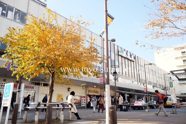 大宮駅東口 さいたまの風景
