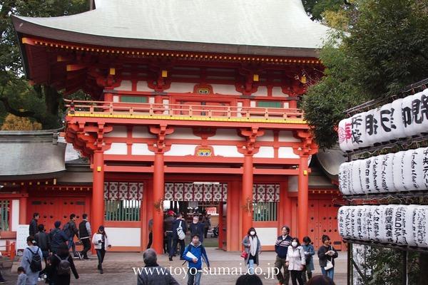 武蔵国一宮神社 大宮 氷川神社 さいたまの風景