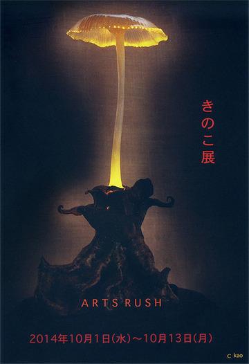 アートラッシュきのこ展2014