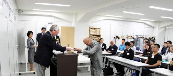 東洋医療臨床技術大学校アカデミー修了式表彰