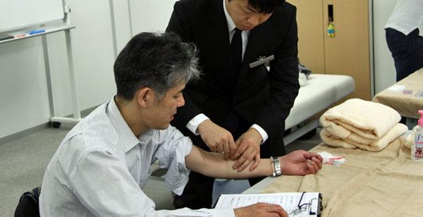 鍼灸実技試験7