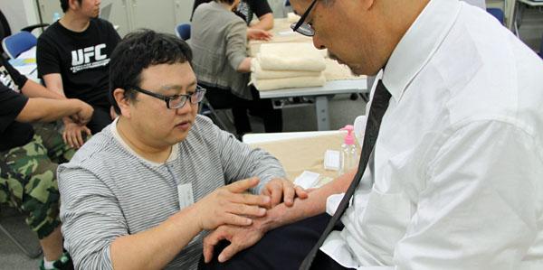 鍼灸実技試験5