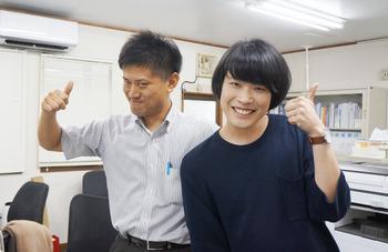 福田さんと瀬見さん