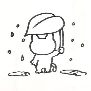 0610雨の日のにゃん田くん