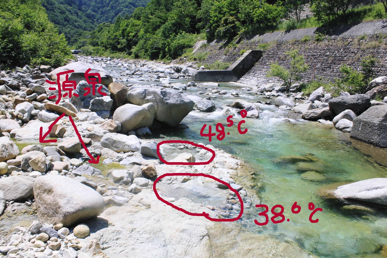 toyotaboxyのblog : 葛温泉 河原...