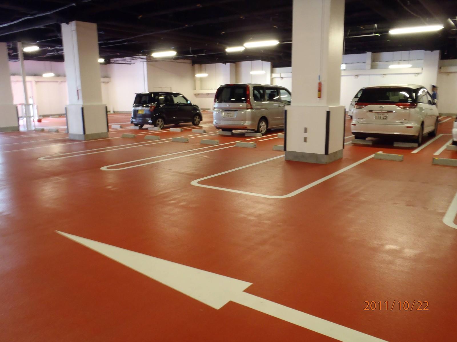 カップ ヌードル ミュージアム 駐 車場