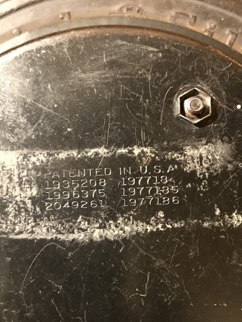 vintage BF goodrich silvertown tire wall clock (17)