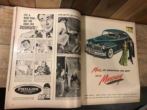 vintage 40's life magazine (189)
