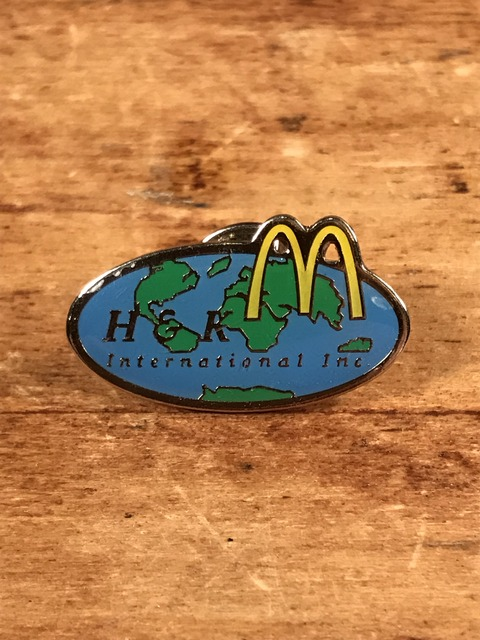 "Vintage McDonald's ""H & K International Inc."" Enamel Pins (1)"
