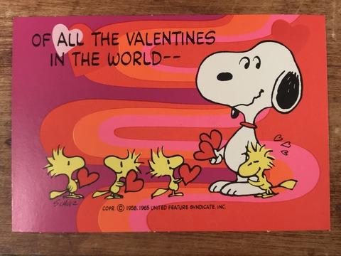 Vintage Hallmark Peanuts Snoopy Valentine Card (4)
