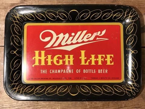vintage miller high life tin tray (22)