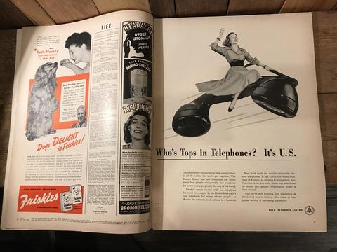 vintage 40's life magazine (119)