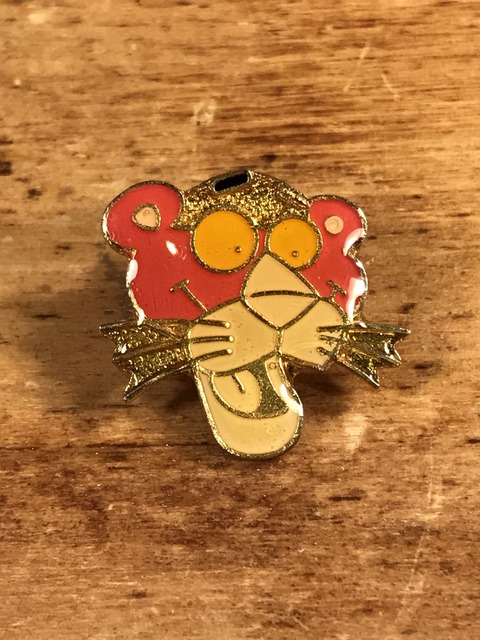 Vintage Pink Panther Enamel Pins (1)
