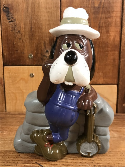 "Vintage Chuck E Cheese's ""Jasper T. Jowls"" Coin Bank Doll (1)"