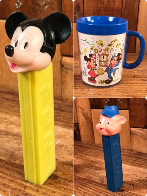 """Vintage Disney """"Mickey Mouse"""" No Feet Pez Dispenser"""