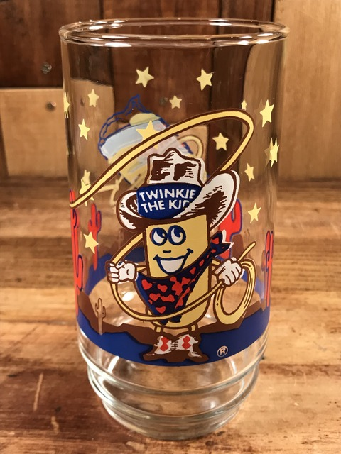 "Vintage Hostess ""Twinkie The Kid"" Glass (1)"