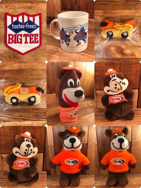 Vintage A&W Rootbeer Bear Plush Doll