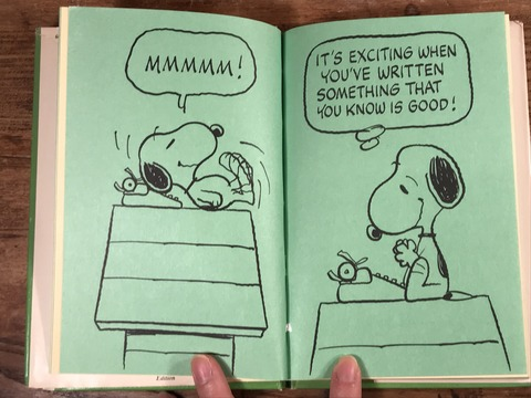 Vintage The Collected Writings of Snoopy Picture Book (15)