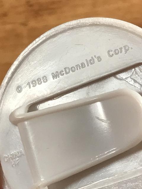 Vintage McDonaldland Olympic Team Plastic Clip Badge (15)