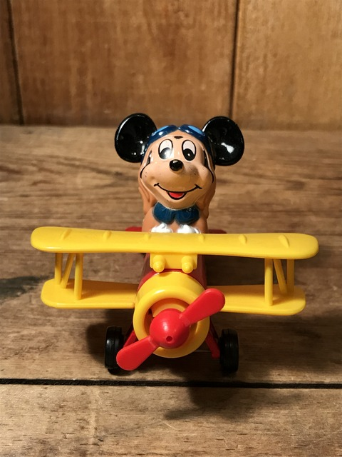 vintage disney mickey mouse airplane minicar (1)