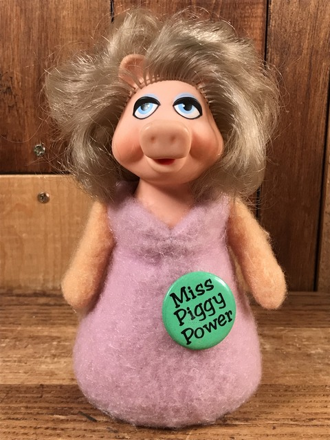 """Vintage Fisher-Price The Muppets """"Miss Piggy"""" Beanbag Doll (1)"""