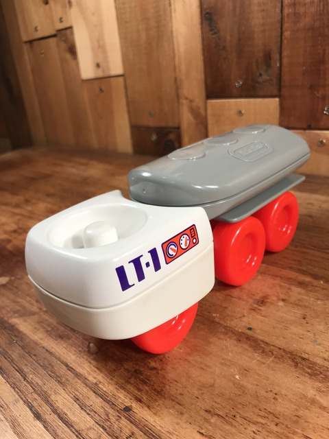 Vintage Little Tikes Toddle Space Exploration Rover (2)